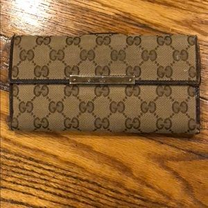 Gucci Wallet with wear